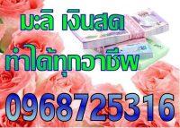 เงินกู้ เงินด่วน เเหล่งเงินด่วน เงินกู้ด่วน บริการเงินด่วน 096-8725316คุณมะลิ
